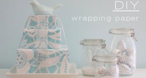 Wrapping it Up With Stencils: DIY Wrapping Paper Stencil Project