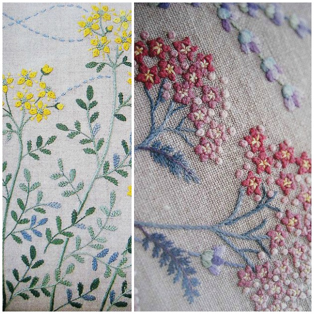 Paint+Pattern+Pinterest Discover The Fabulous Nature Inspired Japanese Embroidery | Paint + Pattern