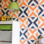 An Adorably Stenciled Accent Wall for Boys' Room