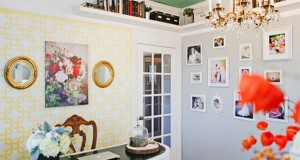 Create a Dream Home Office with Stencils